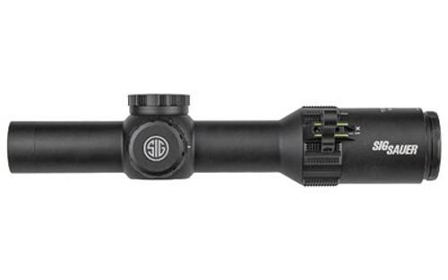 Sig Tango4 1-4x 24mm Obj, 30mm, Black, Illuminated Horseshoe Dot, .5 MOA