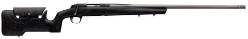 """Browning X- Max Range 300 WSM, 26"""" Barrel, Black and Gray Textured Finish Stock, Stainless Steel, 3rd"""