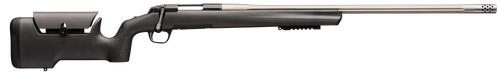 "Browning X- Max Varmint/Target 308 Win, 26"" Barrel, Black Fixed Max Adjustable Comb Synthetic Stock, Black Steel Receiver, 4rd"