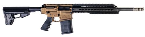 "Christensen CA-10 DMR 6.5 Creedmoor, 22 1/8"" Rifle Gas Keymod Handguard, Burnt Bronze, Magpul ACS Stock, Ti Side Baffle Brake, 20rd"