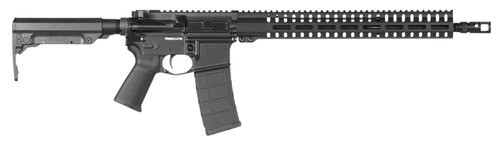 "CMMG Resolute 300 MK4 5.56mm 16.1"" Barrel, 6-Position Black Stock Black Hardcoat Anodized, 30rd"