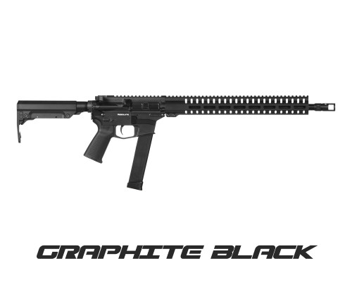 "CMMG Resolute 300 MKG 45 ACP 16.1"" Barrel, 6-Position Black Stock, 13rd"