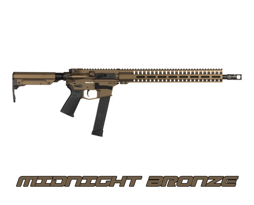 "CMMG Resolute 300 MKG 45 ACP 16.1"" Barrel, 6-Position Black Stock Bronze, 13rd"