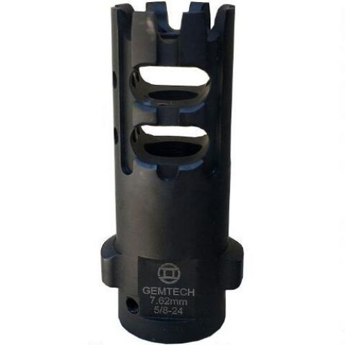 Gemtech Tri-LOCK Muzzle Break For 338 Lapua, 5/8-24