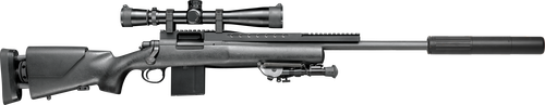 "Reminton 700 Police USR Rifle Only 308 Win 20""5-R Threaded Barrel HS Precision Stock, 10rd Mag"