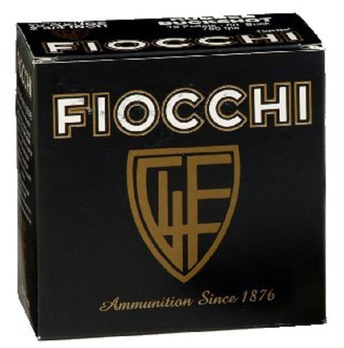 "Fiocchi High Velocity 12 Ga, 2.75"", 1-1/4oz, 4 Shot, 25rd/Box"