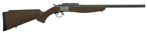 CVA Hunter 243 Win, Brown Compact Adjustable Stock, 1rd