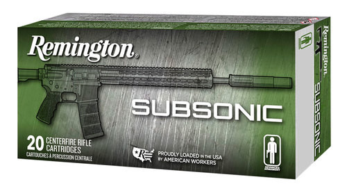 Remington Silencer Subsonic 45 ACP 230gr, FNEB, 50rd Box