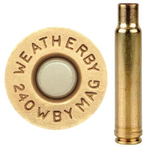 Weatherby Unprimed Brass 240 Weatherby Magnum Lightweight 20 Per Box