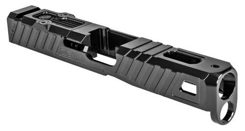 Zev Technologies Omen RMR Glock 19 Gen5 Slide, DLC Finish