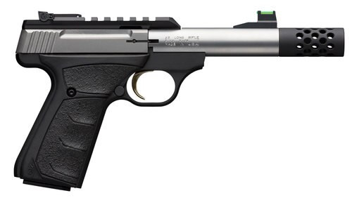 "Browning Buck Mark+ Micro Bull UFX 22 LR, 4.4"" Bull Barrel, Suppressor Ready"