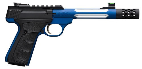 "Browning Buck Mark+ Light Competition UFX 22 LR, 5.9"" Blue Barrel, Suppressor Ready, Rug"