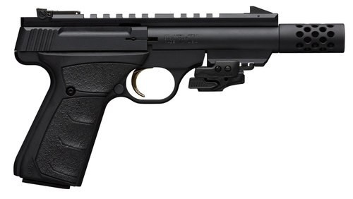 "Browning Buck Mark 22 LR Black Label, 4.4"" Barrel, Suppressor Ready"