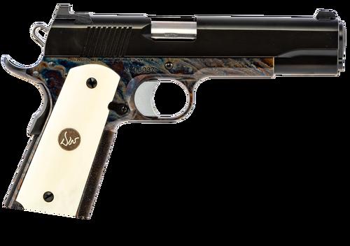 Dan Wesson Valor 9mm, Case Color Frame, Bone Grips, 9rd
