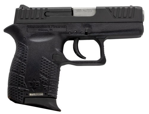 Diamondback DB380 380 ACP, Viridian Laser, Black, 6rd