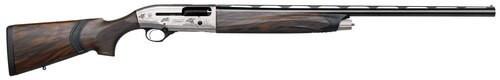 "Beretta A400 Upland 12 Ga, 28"" Barrel, Nickel Finish, Wood Stock, Right Hand, Includes 3Choke Tubes - F,M,C, 3Rd, Brass Bead Front Sight J40AN18"