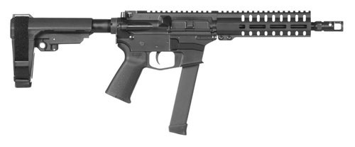 "CMMG Banshee 200 MKGS AR Pistol 9mm, 8.5""Barrel, Polymer Black Hardcoat Anodized, 32rd"