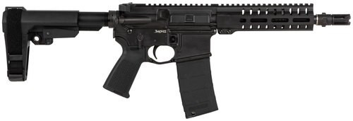 "CMMG Banshee MK4 AR Pistol 300 Blackout 8"" Barrel, Polymer Black, 30rd"
