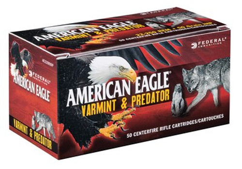 Federal American Eagle 17 Hornet 20gr, Varmint, 3610 FPS, 50rd Box