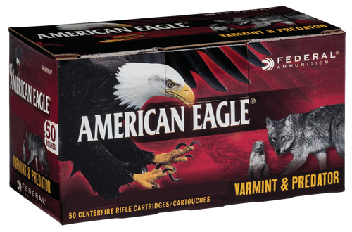 Federal American Eagle 6.8mm Rem SPC 90gr, JHP, 50rd Box