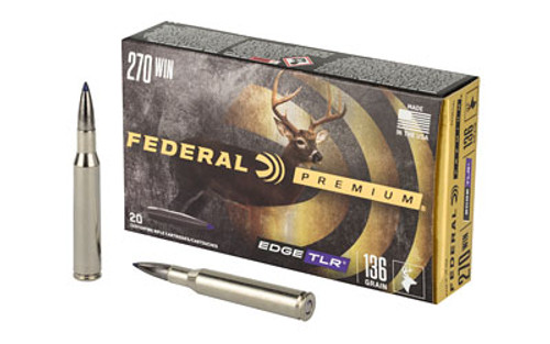 Federal Edge TLR 270 Win 136gr, Terminal Long Range, 20rd Box