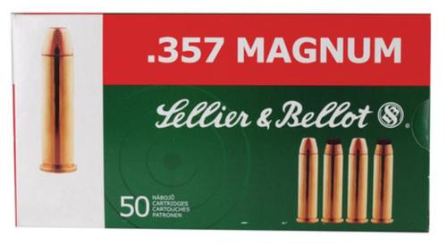 Sellier and Bellot 357 Magnum 158 FMJ 50Rd/Box