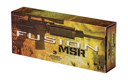 Federal Fusion MSR 6.8mm Rem SPC 90gr, Fusion, 20rd Box
