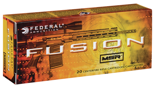 Federal Fusion MSR 300 Blackout 150gr, Soft Point, 20rd Box