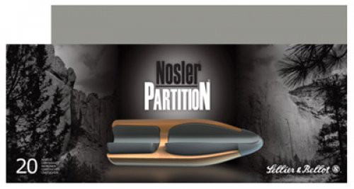 Sellier and Bellot 7mm Rem Mag 175 Nosler Partition 20rd Box