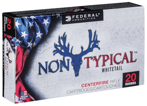 Federal Non-Typical 308 Win/7.62mm 180gr, Soft Point, 20rd Box