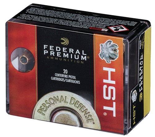 Federal Personal Defense 9mm 147gr, Jacketed Hollow Point, 20rd Box