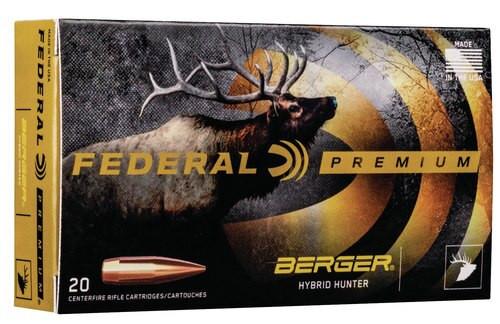 Federal Premium 300 Win Mag 185gr, Berger Hybrid Hunter, 20rd Box