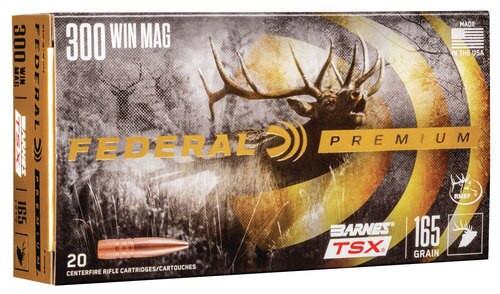 Federal Premium 300 165gr, Brn Tsx, 20rd Box