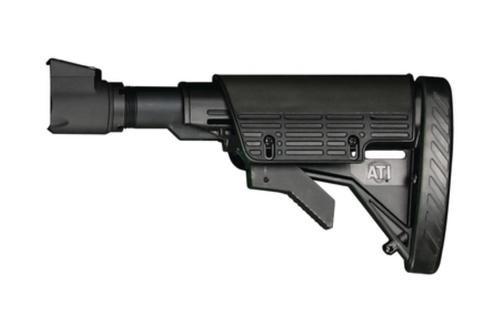 Advanced Technology SAIGA Strikeforce Elite 6-Position Adjustable Stock With Scorpion Recoil System Black Fits All SAIGA Shotguns