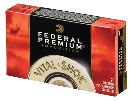 Federal Vital-Shok 223 Rem 55gr, Barnes Triple Shock X Bullet, 20rd Box