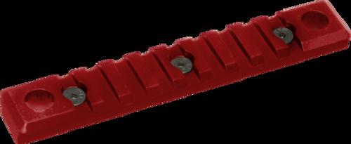 Timber Creek QD Picatinny Rail Combo, Keymod, 9 Slot, Red