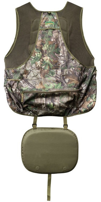 Primos Gobbler Hunting Vest X-Large/XX-Large Realtree Xtra Green