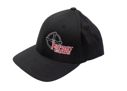 Impact Guns Logo Cap, Black, S/M