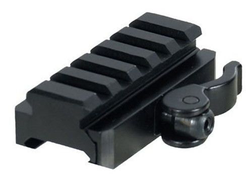 Leapers UTG Pro Mount AR-15 Adapter & Riser, 5-Slot, Quick Detach, Black