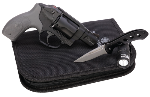"Smith & Wesson M&P Bodyguard Everyday Carry Kit 38 Special+P, 1.9"" Barrel, Crimson Trace, MA Compliant, 5rd"