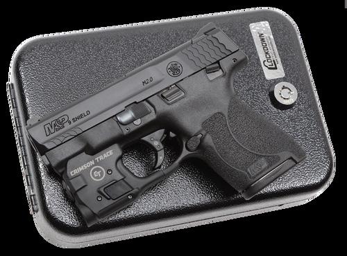 Smith & Wesson M&P Shield M2.0 Defense Kit 9mm, Crimson Trace, Vault, 2x8rd