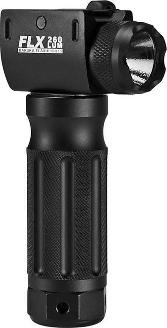 Barska FLX Flashlight, Tactical Grip 2 CR123A Lithium 3v Black