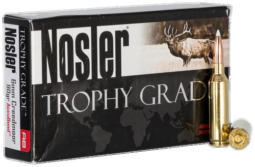 Nosler Trophy 6mm Creedmoor 90gr, AccuBond, 20rd Box