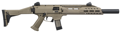 "CZ Scorpion EVO 3 S1, 9mm, 16"", 20rd, Faux Suppressor, Flat Dark Earth"