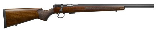 "CZ 457 Varmint, .17 HMR, 20.5"" Barrel, 5rd, Turkish Walnut/Varmint Style"