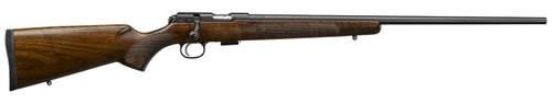 """CZ 457 American, .17 HMR, 24.8"""" Barrel, 5rd, American-Style Turkish Walnut"""