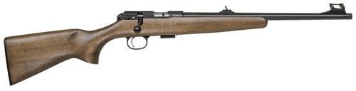 "CZ 457 Scout, .22 LR, 16.5"" Barrel, 5rd, American-Style Beechwood"