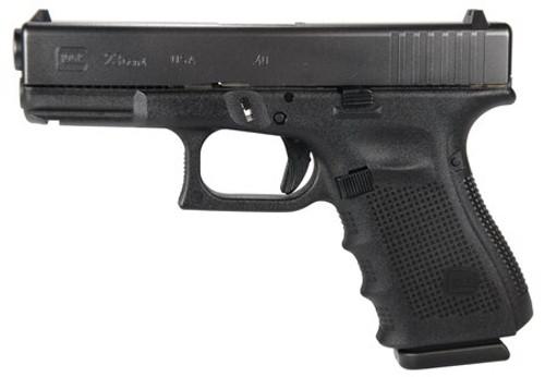 "Glock, 23 Gen4, Striker Fired, Compact, 40S&W, 4.02"" Barrel, Polymer Frame, Matte Finish, Fixed Sights, 13Rd, 3 Magazines"