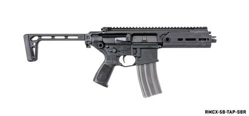 "Sig MCX Rattler SBR 5.56/.223, 5.5"" Barrel, 30rd, PDW Stock, Black, All NFA Rules Apply"