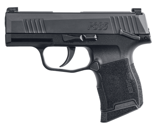 "Sig P365 *MA*, 9mm, 3.1"" Barrel, 10rd, X-Ray3, Manual Safety, Black"
